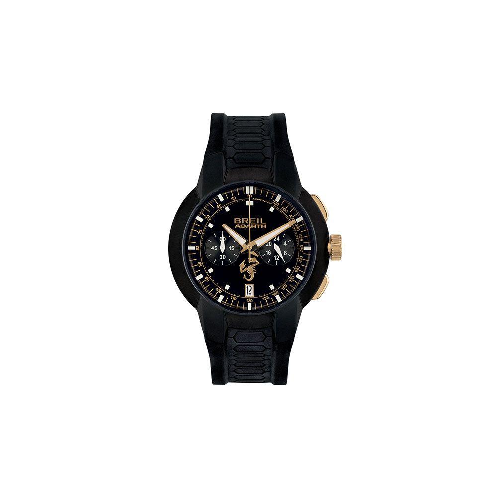 "Abarth Armbanduhr ""595 Scorpione Oro"" Schwarz-Gold"