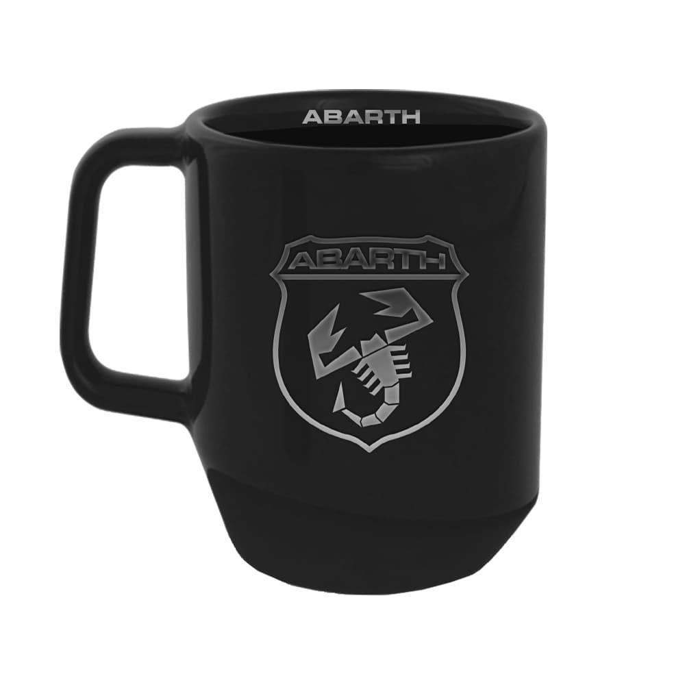 Abarth Keramik-Tasse schwarz